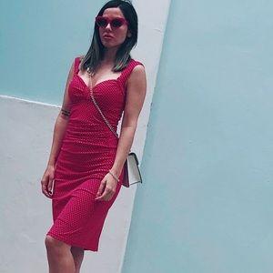 Vintage dress polka dot